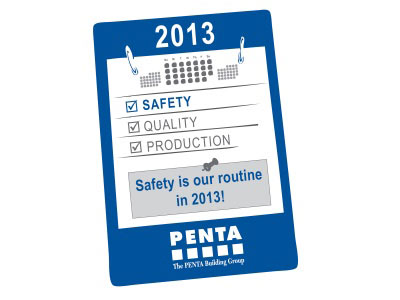 Safety is Our Routine in 2013