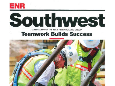 Named ENR Southwest Contractor of the Year